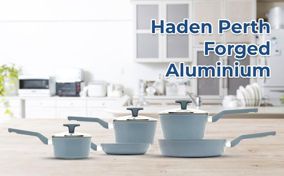Haden Perth Forged Aluminium 5pc Pan Set