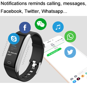 Notifications reminds calling and messages