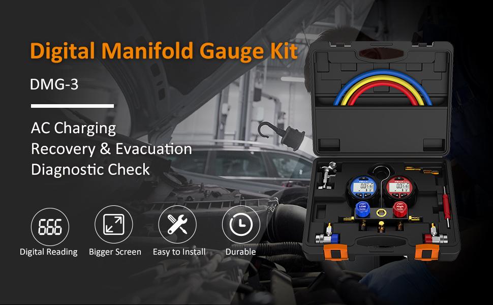 DMG-3 Manifold Gauge Kit
