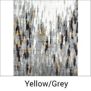 Abani Rugs Porto 140 Yellow/Grey Area rug