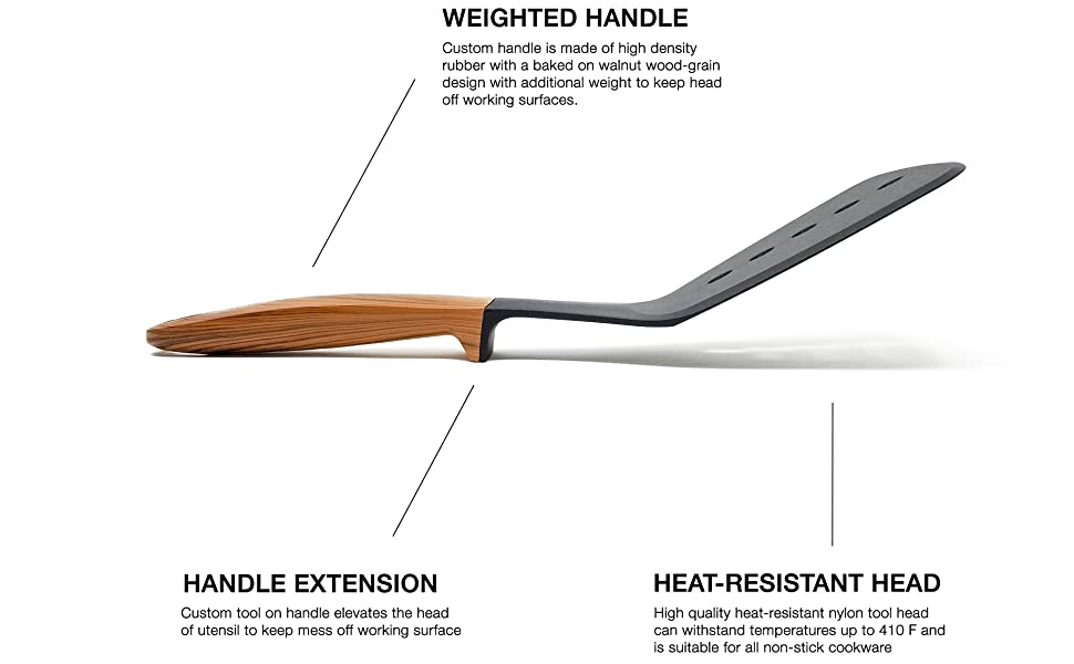 gearrific weighted handle spatula