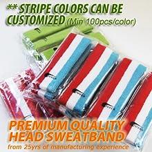 Custom baby sports headband customize