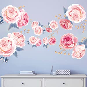 blue fower for wall decoration home office