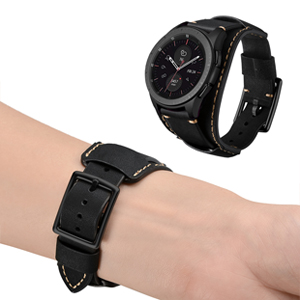 samsung gear s3 band men women black wristband vintage 46mm pebble time moto 360