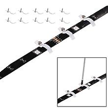 10pcs Strip Lights' Hooks & Screws