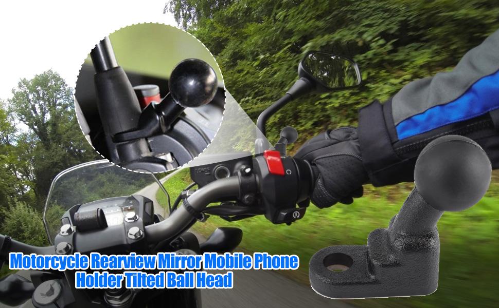 Universelle Motorrad Spiegelhalterungen Mit Fester Elektronik