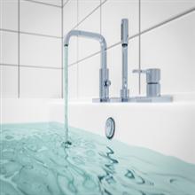 Bath water quality temperature