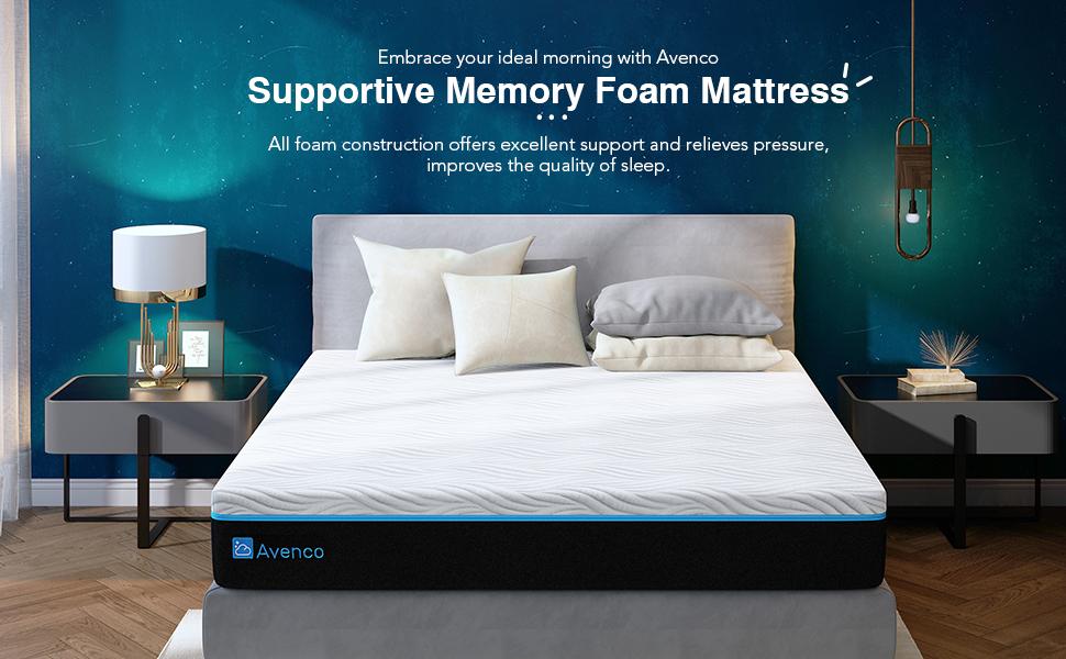 Avenco memory foam mattress full size queen size king size twin size mattress california xl