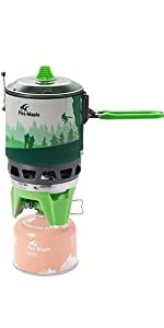 Fire-Maple Fixed Star 3 Backpacking Cooking System Stove