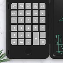 taschenrechner einfach klein mit batterie   kleiner  schwarz