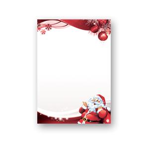 Papeterie De Noël Lettre Au Père Noël 250 Feuille De Papier