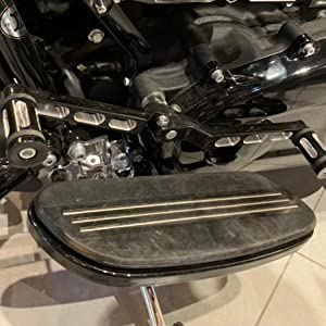 Amazicha Chrome Front Axle Nut Covers Edge Cut for Harley Electra Glide 2008-2018 live4fun
