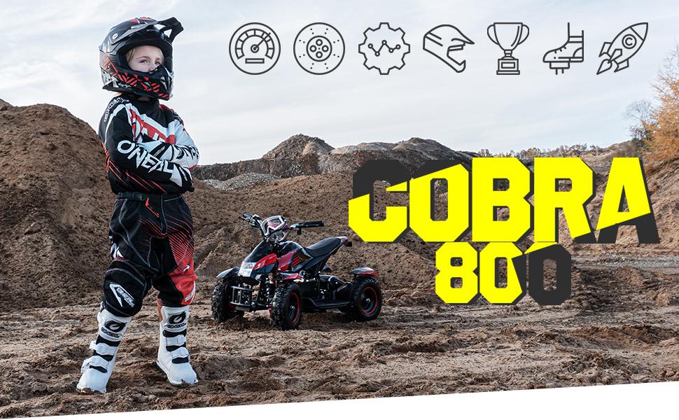 Kinderquad Cobra 800
