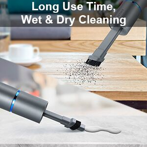 Long Use Time, Wet& Dry cleaning