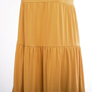 tiere ruffle dress