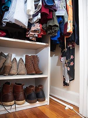 shoes closet moisture mildew smell
