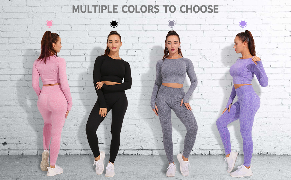 Seamless Crop Top Fitness Workout Running Top Unique Style