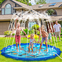 kids sprinklers splash pads