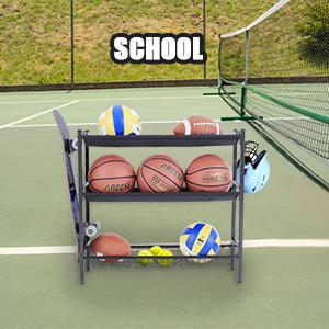 Sports Equipment Storage Organizer