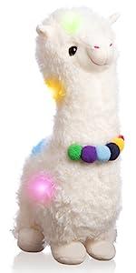 llama plush toy large llama stuffed animal big llama night light for girls soft llama pillow gifts