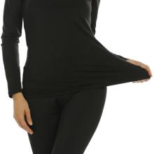 warm woman thermal underwear set