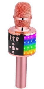 Q78 ROSE GOLD MICROPHONE