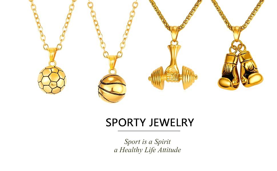 I Love Sport Jewelry