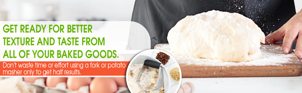 get ready for better texture and taste from all your baked goods. don't waste time and effort