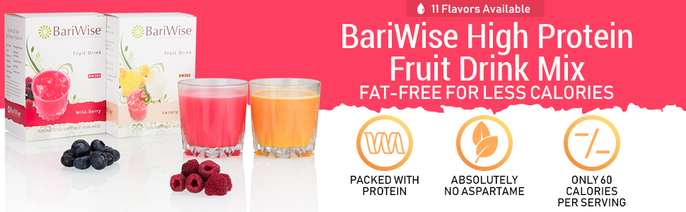 bariwise high protein fruit drink mix