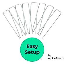 Easy Setup Staples