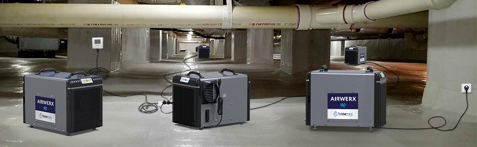 Remove Damp, Crawl Space amp; Basement with BaseAire dehumidifiers