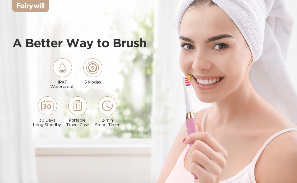 electric toothbrush for teens, kids and adults