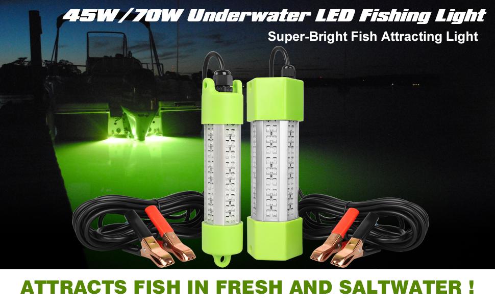 LED Submersible Fishing Light