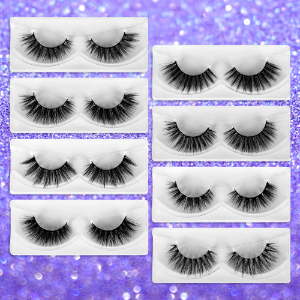 natural look to dramatic styles lashes