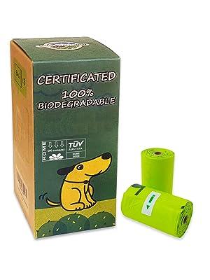 moonygreen Bolsas para Excrementos de Perro Biodegradables