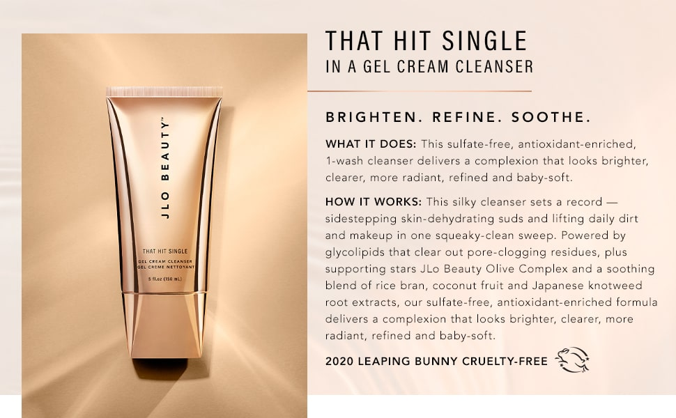 that hit single cleanser