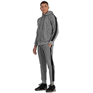 Grey Tracksuit for men