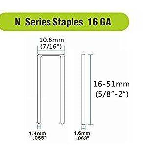 N Series Staples