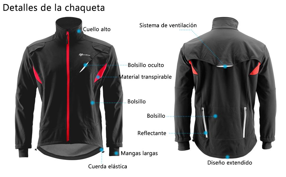detalles de chaqueta
