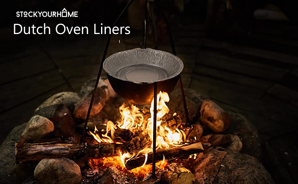 Stock Your Home Dutch Oven Liner - 10