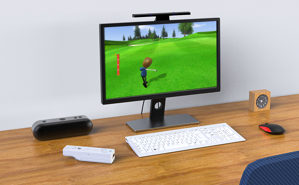 MAYFLASH Wireless Sensor DolphinBar Wiimote to PC USB Adapter