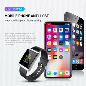 Anti-lost fitness tracker