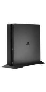 Younik PS4 Slim Vertical Stand with Built-in Cooling Vents and Non-Slip Feet