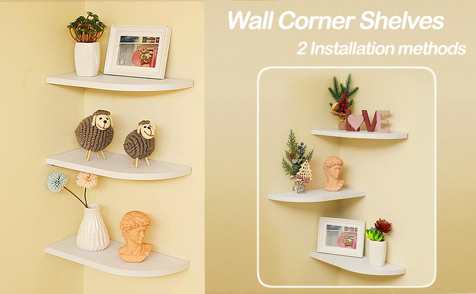 wall corner shelf