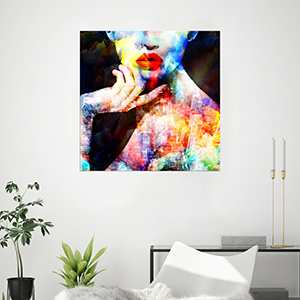 Modernism Canvas Poster Nude Girl/'s Back Picture Wall Bedroom Home Art Decor