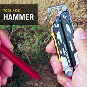 Hammer, Leatherman, Leatherman Signal, Multitool, Multipurpose Tool