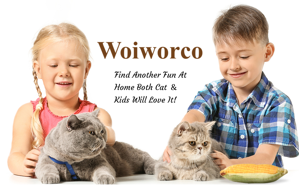 Woiworco 12 Pieces Catnip Toys for Cats