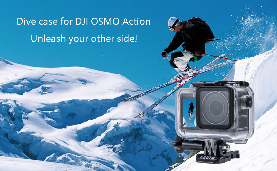 dive case for dji osmo action