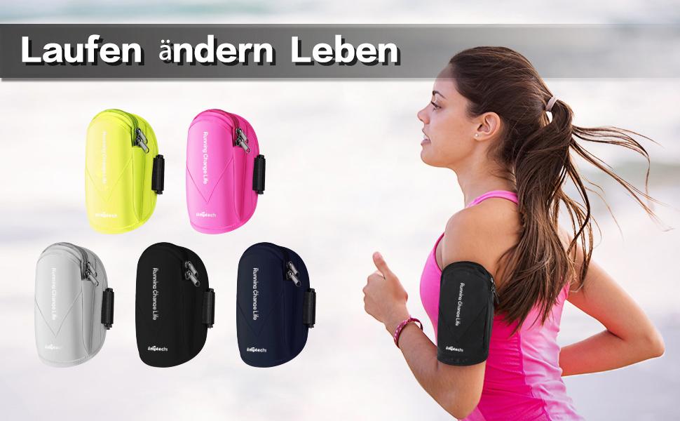 Simptech Handytasche Laufen Sport Handyhalter Elektronik