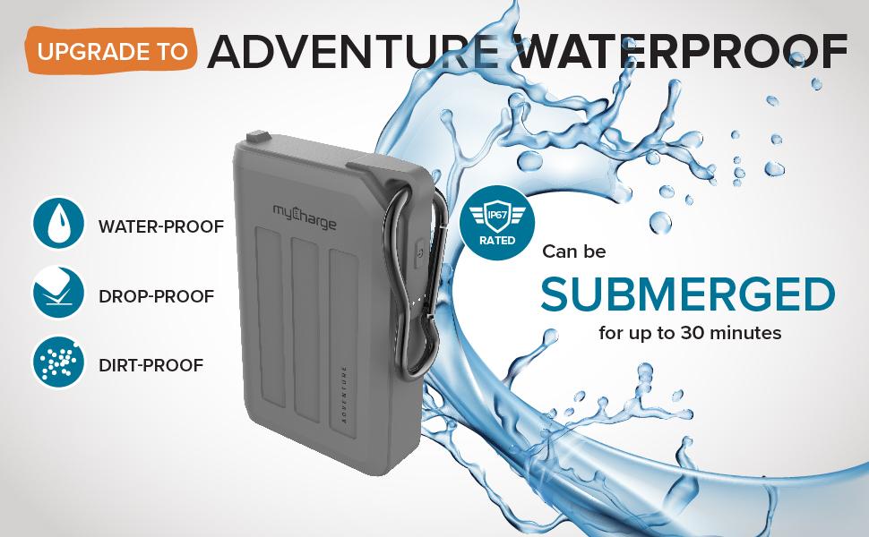 myCharge Adventure - Upgrade to Waterproof